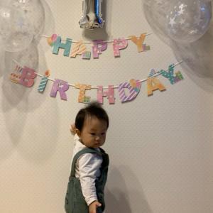 孫とジージの誕生日・・・