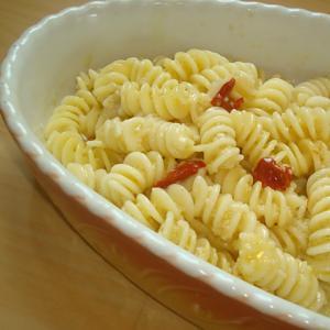 本日も雑穀料理の魅力紹介します!! もちアワで絶品ペペロンチー二ソース
