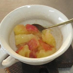 お腹の冷えに「りんごの葛煮」。お子さまのおやつにも!!