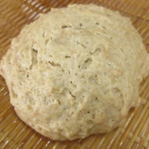 楽しい試作♪ 古代小麦のソーダブレッド生地を蒸してみました。