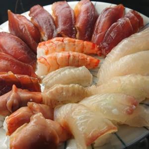 昆布〆の握り寿司