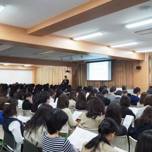 目黒学院高校のホームページで紹介されました。