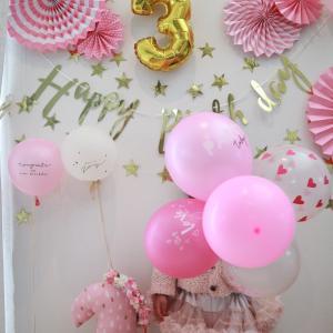 子供たちの誕生日☆ダイソーで飾りつけ☆