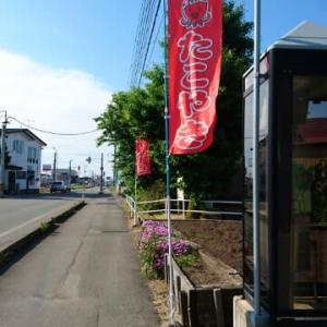 秋田市は仁井田に、たこ焼きのお店があった。