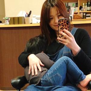 1年前の抱っこ写真〜(*´∇`*) ふたたび