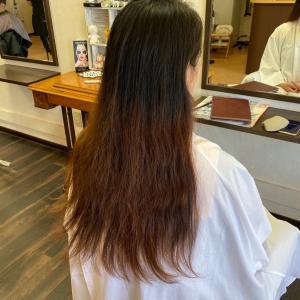今月2組目のドナー様*15cmからのヘアドネーション【つな髪】のサポート店です(*^^*)