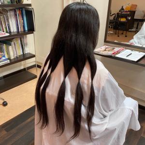【15cmからのヘアドネーション】常連様からのご紹介でヘアドネーション(*^^*)