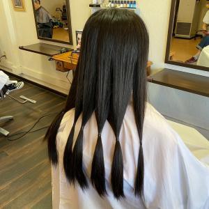 【15cmからのヘアドネーション】意外と近くにあった!ヘアドネーションができる美容室(^^)