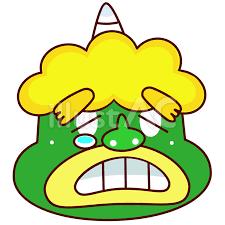 「鬼の目にも涙!」