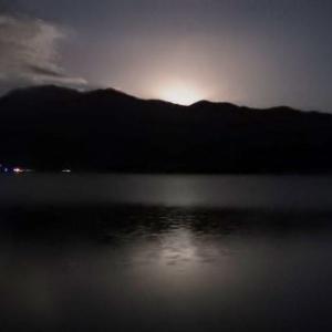 ★ (2018) ふた月遅れの 「中秋の名月」 野尻湖