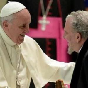 ★ キコの80歳の誕生日に寄せられた教皇様の祝辞