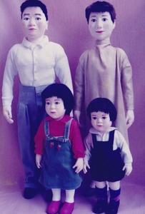 布の人形2