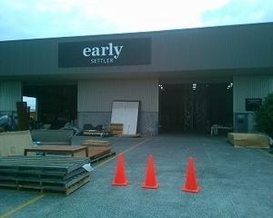 ニュージーランドの家具屋さん「earlysettler」の倉庫セール!!