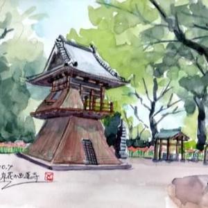 彼岸花の西連寺①(2019/10/7)