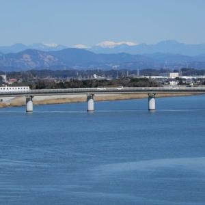 菊川河口 潮騒橋からの眺め