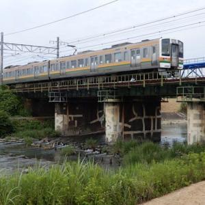 菊川に掛る鉄橋