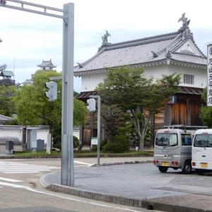 大手門と掛川城