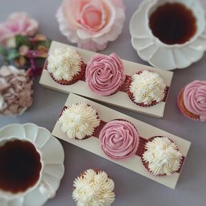美味しいデコレーションカップケーキが作れるようになるレッスン♪