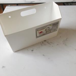 セリアの優秀なメールBOXを使ってランドリーネットを収納