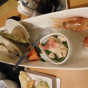 サロマ湖の旅 夕ご飯・・・