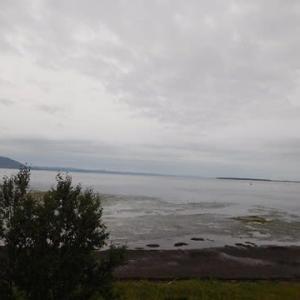 サロマ湖の旅 朝の景色 と 朝食・・・