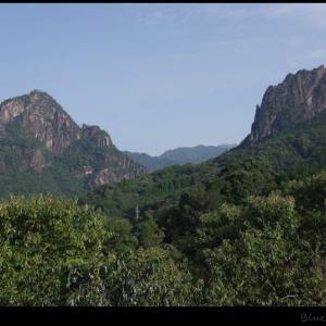 比叡山の「カランコロン岩」へ