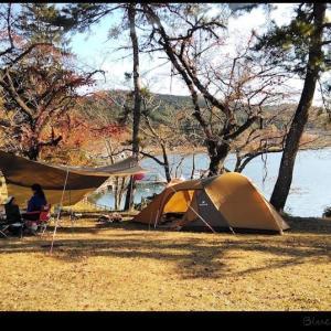 家族で志高湖キャンプ場