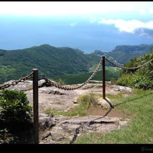 平戸最高峰の安満岳へ