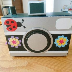 手作りのカメラ♪