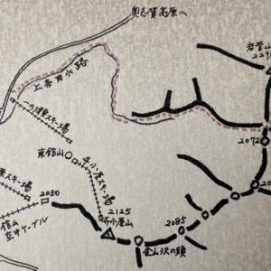 心に残る思いでの山(49) 奥志賀・岩菅山(2295)