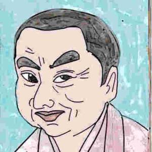 似顔絵・三遊亭好楽
