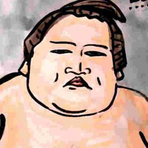 似顔絵・照ノ富士