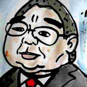 似顔絵・小林亜星・寺内貫太郎