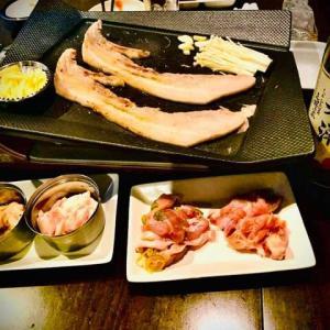 若潮酒造の美味しい焼酎が飲めるお店 ダイニングマイスター 様 サムギョプサル&白若潮シロワカシオ