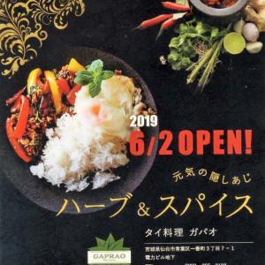 タイ料理 ガパオ(気になるKOBチョイス!その7)