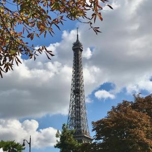 パリ散歩『エッフェル塔、見つけた!』