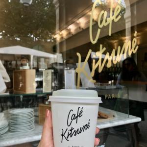 パリ・パレ ロワイヤル庭園のお気に入りカフェ!『Cafe Kitsune』
