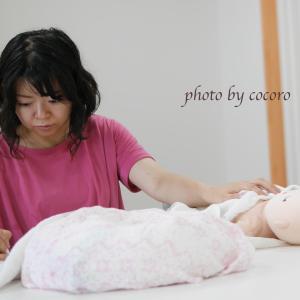 【レポ】1人目2人目の新生児期の経験があるからこそ必要性を感じて…♡妊婦さんのおくるみタッチケア