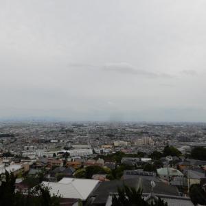 大阪平野が見渡せます