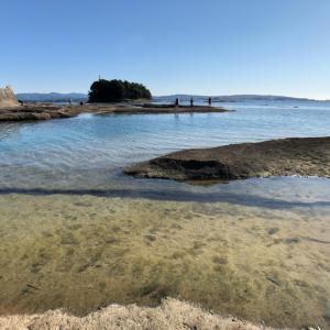 和歌山にもあるウユニ塩湖ナウ#和歌山旅行 #和歌山#天神崎ウユニ塩湖 #天神崎