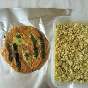 実家の父と一緒に食べる昼食は、素朴に、シンプルに作るのがイチバン。
