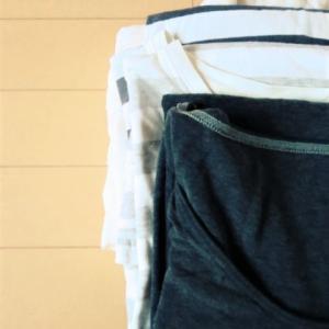 衣替え。捨てるのをためらっていた、着心地のよかったパジャマをやっと捨てることが来ました。