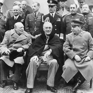 1945年2月4日、ヤルタ会談始まる