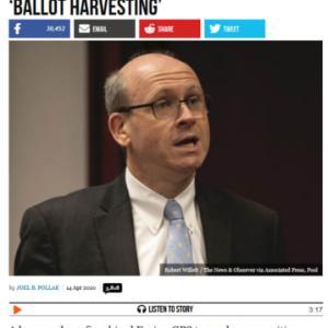 米大統領選:キーワードはballot harvesting