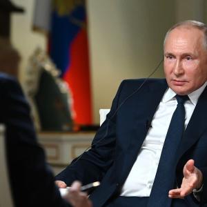 プーチン、NBCのインタビューを受ける