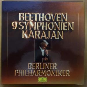 カラヤン  ベルリン・フィル  1970年代のベートーヴェン交響曲全集 LP から第4番。