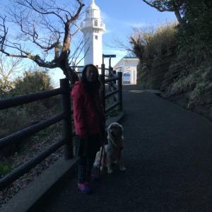 観音崎灯台へ