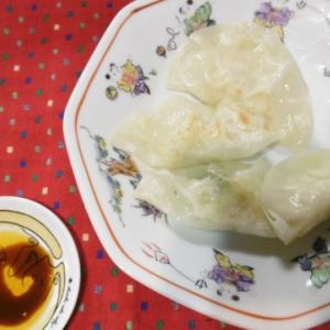 割烹白菜漬を使って焼き餃子