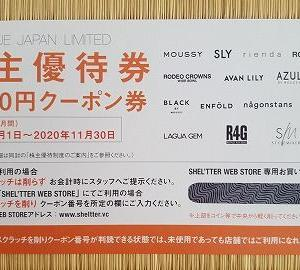 3548バロックジャパンリミテッド(時価総額86位)