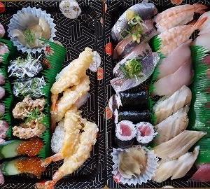 かっぱ寿司でテイクアウト(7421カッパ・クリエイト)